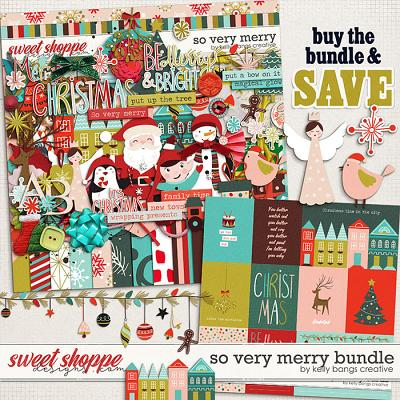 So Very Merry Bundle by Kelly Bangs Creative