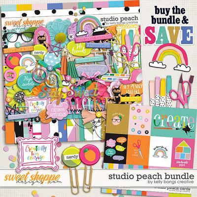 Studio Peach Bundle by Kelly Bangs Creative