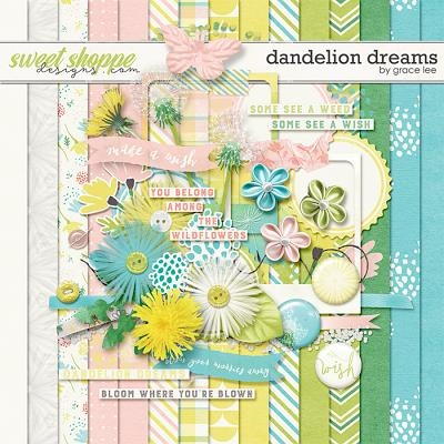 Dandelion Dreams by Grace Lee