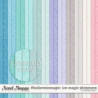 #believeinmagic: Ice Magic Shimmers by Amber Shaw