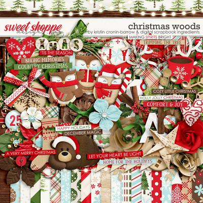 Christmas Woods by Kristin Cronin-Barrow & Digital Scrapbook Ingredients