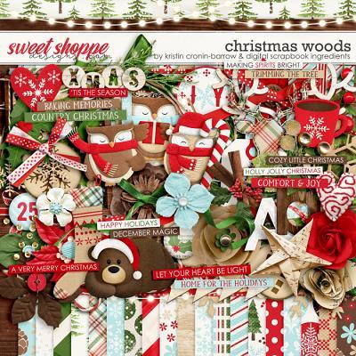 Christmas Woods by Kristin Cronin-Barrow & Digital Scrapbook Ingredients