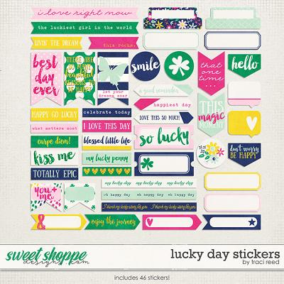 Lucky Day Stickers by Traci Reed