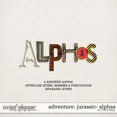 Adventure: Jurassic- ALPHAS by Studio Flergs
