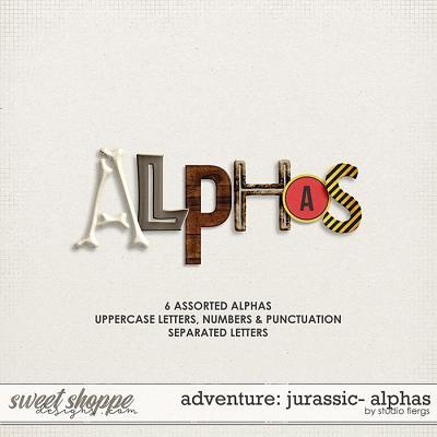 Adventure: Jurassic- ALPHAS by Studio Flergs