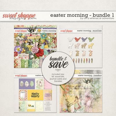 Easter Morning Bundle 1 by On A Whimsical Adventure