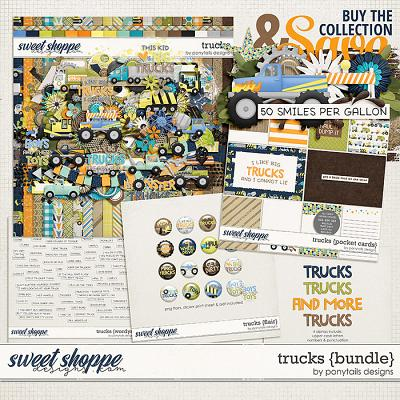 Trucks Bundle by Ponytails