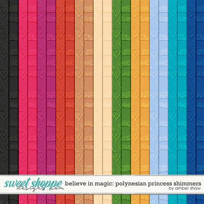 Believe in Magic:  Polynesian Princess Shimmers by Amber Shaw