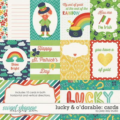 Lucky & O'dorable Cards by Jady Day Studio