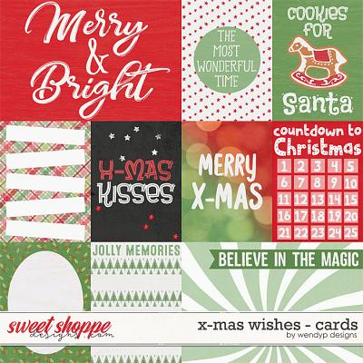 X-Mas wishes - cards by WendyP Designs