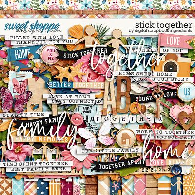 Stick Together by Digital Scrapbook Ingredients