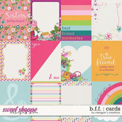 B.F.F. : Cards by Meagan's Creations