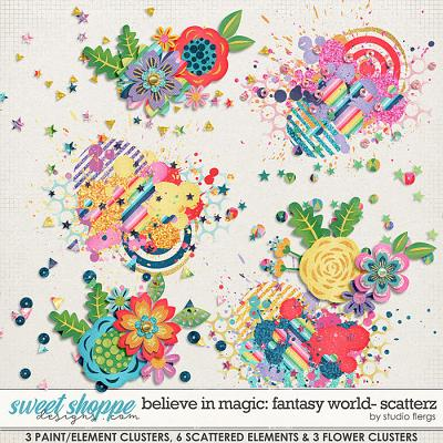 Believe in Magic: FANTASY WORLD- SCATTERZ by Studio Flergs