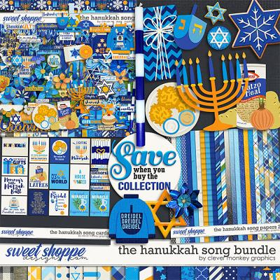 The Hanukkah Song Bundle by Clever Monkey Graphics