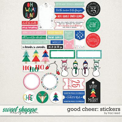 Good Cheer Stickers by Traci Reed