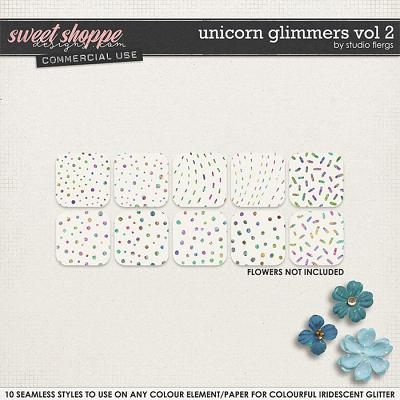 Unicorn Glimmers VOL 2 by Studio Flergs