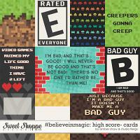 #believeinmagic: High Score: Cards by Amber Shaw & Studio Flergs