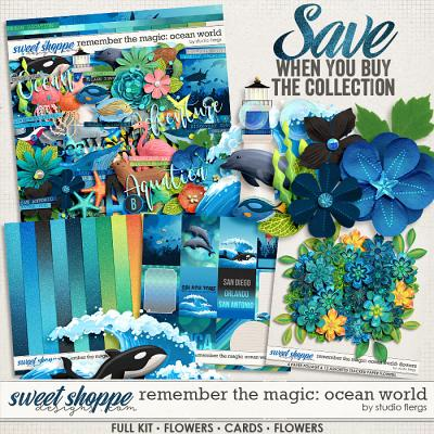 Remember the Magic: OCEAN WORLD- COLLECTION & *FWP* by Studio Flergs