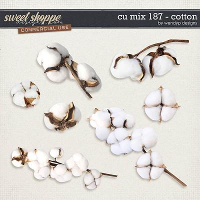 CU Mix 187 - cotton by WendyP Designs