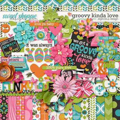 Groovy Kinda Love by Digilicious Design