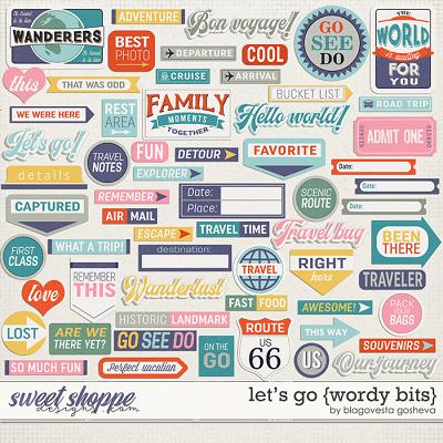Let's go {wordy bits} by Blagovesta Gosheva