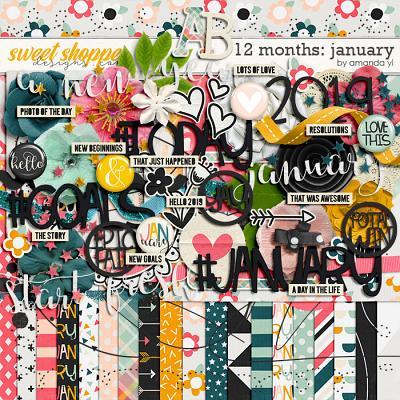 12 Months: January by Amanda Yi