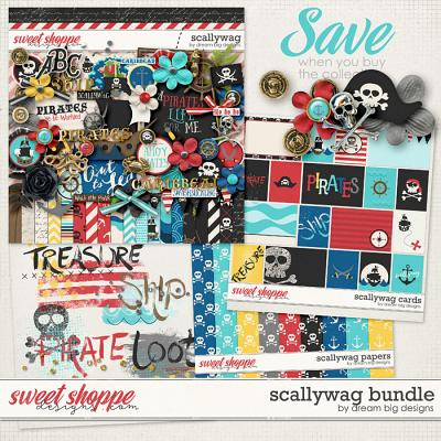 Scallywag Bundle by Dream Big Designs