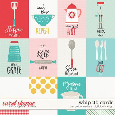 Whip It Cards by Becca Bonneville & Digilicious Design