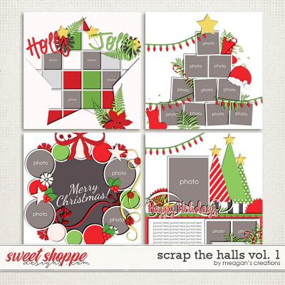 Scrap the Halls Vol. 1 by Meagan's Creations