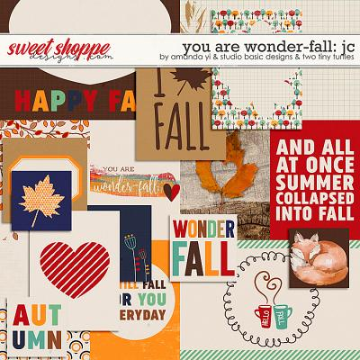 You Are Wonder-Fall Cards by Amanda Yi, Studio Basic Designs & Two Tiny Turtles