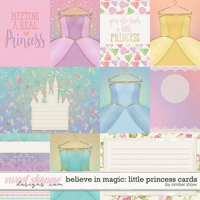 Believe in Magic: Little Princess: CARDS- by Amber Shaw & Studio Flergs