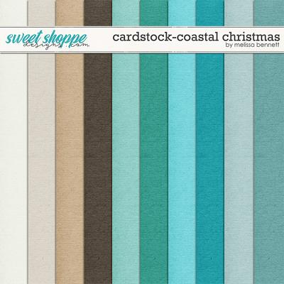 Cardstock-Coastal Christmas by Melissa Bennett