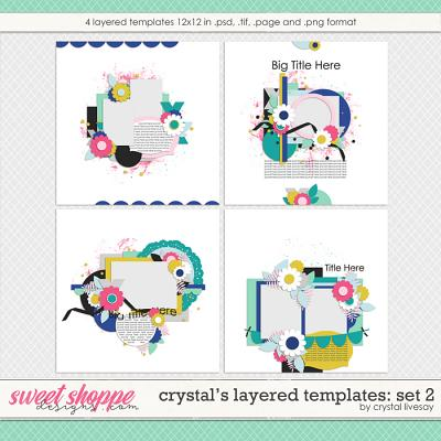 Crystal's Layered Templates Set 2 by Crystal Livesay