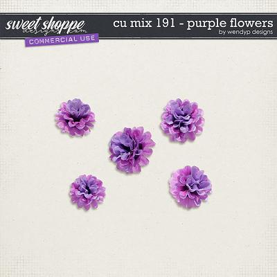 CU Mix 191 - flowers by WendyP Designs