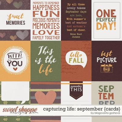 Capturing life: September {cards} by Blagovesta Gosheva
