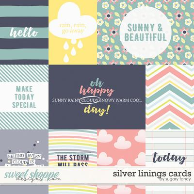 Silver Linings Cards by Sugary Fancy