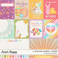 A Joyous Easter: Journal Cards by Jady Day Studio
