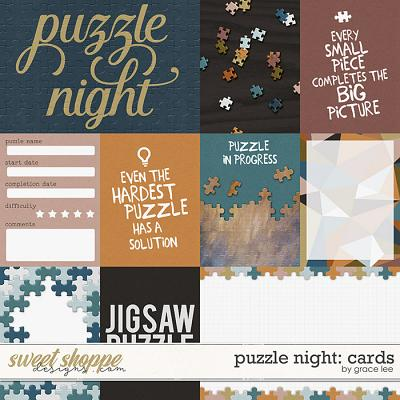Puzzle Night: Cards by Grace Lee