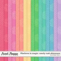#believeinmagic:  Candy Rush - Shimmers