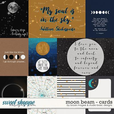 Moon Beam Cards by Brook Magee and Studio Basic