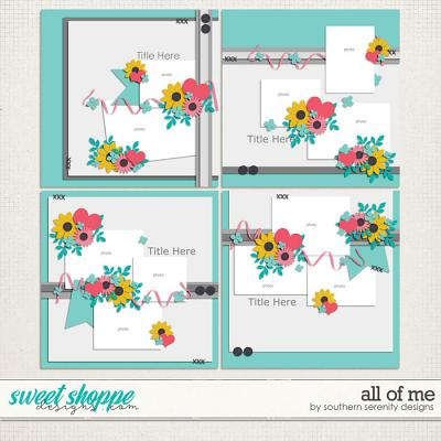 All of Me Layered Templates by Southern Serenity Designs