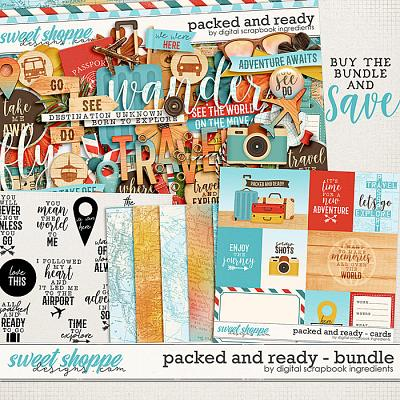 Packed And Ready Bundle by Digital Scrapbook Ingredients