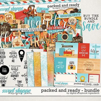 Packed And Ready Bundle by Digital Scrapbook Ingredients
