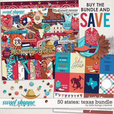 50 States: Texas Bundle by Kelly Bangs Creative