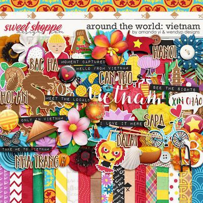 Around the world: Vietnam by Amanda Yi & WendyP Designs