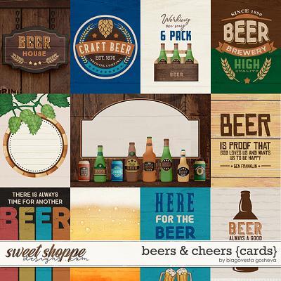 Beers & Cheers {cards} by Blagovesta Gosheva