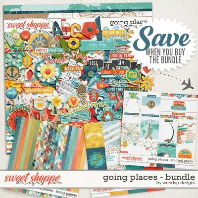 Going places - bundle & Free with Purchase by WendyP Designs