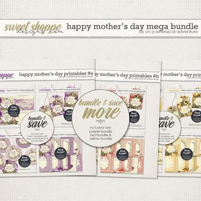 Happy Mother's Day Printables Mega Bundle by On A Whimsical Adventure