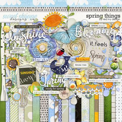 Spring Things by Red Ivy Design