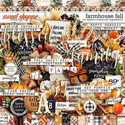 Farmhouse Fall by Digital Scrapbook Ingredients